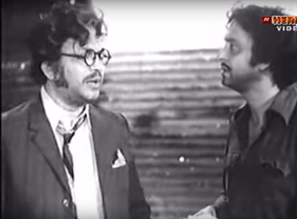 Uttam and Soumitra together