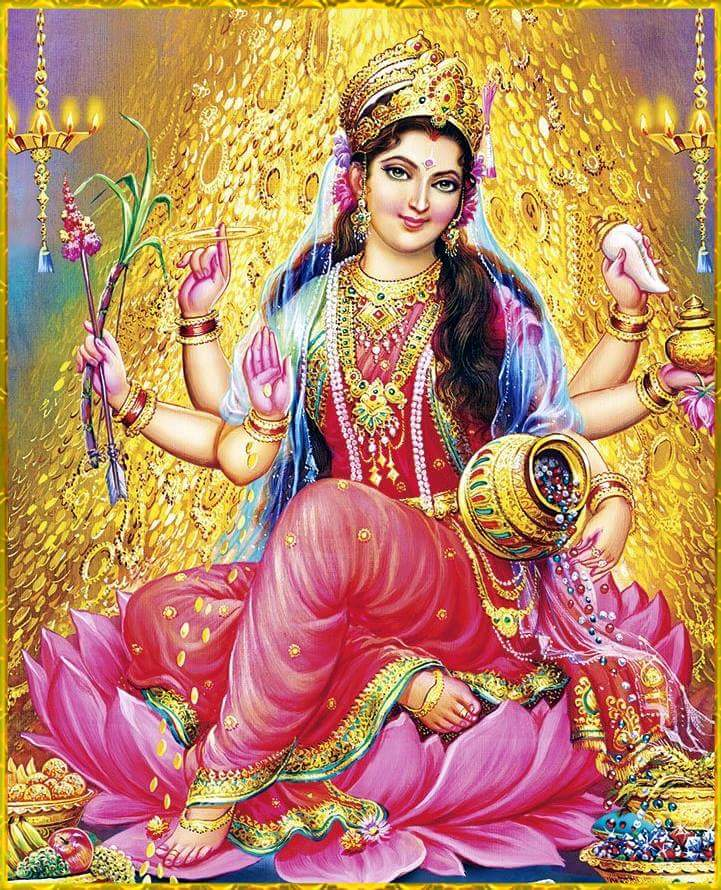 Goddess Lakshmi mythology