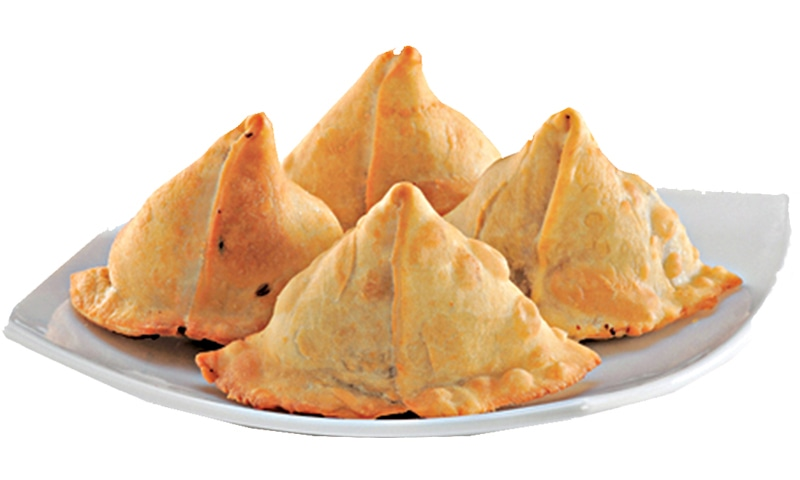Egg samosa healthy snack