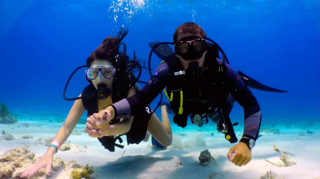 scuba diving destinations in India honeymoon