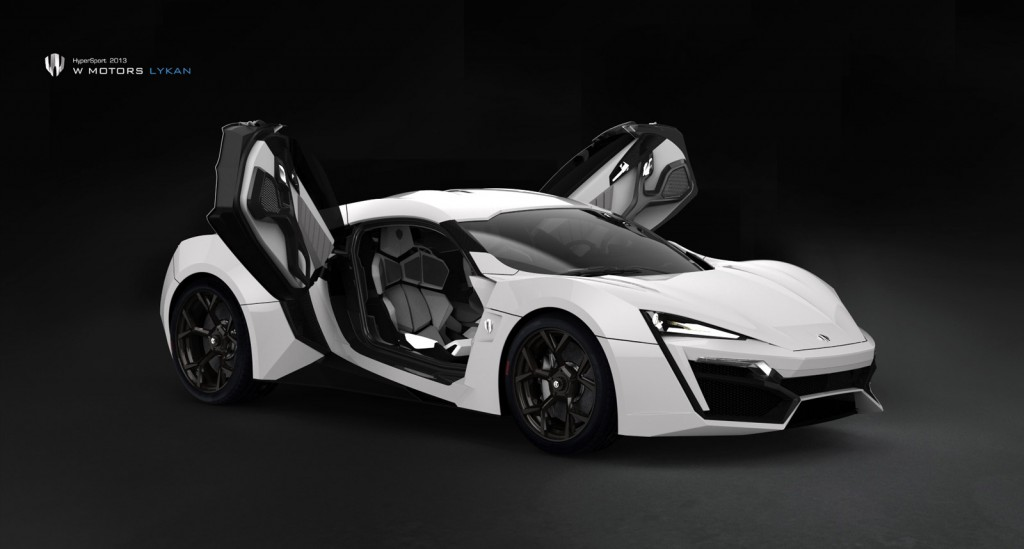 most expensive cars Lykan HyperSport