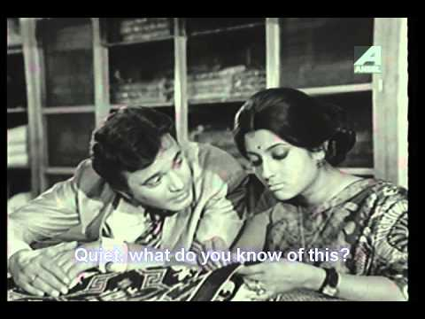 Aparna Sen black and white film memsaheb uttam kumar