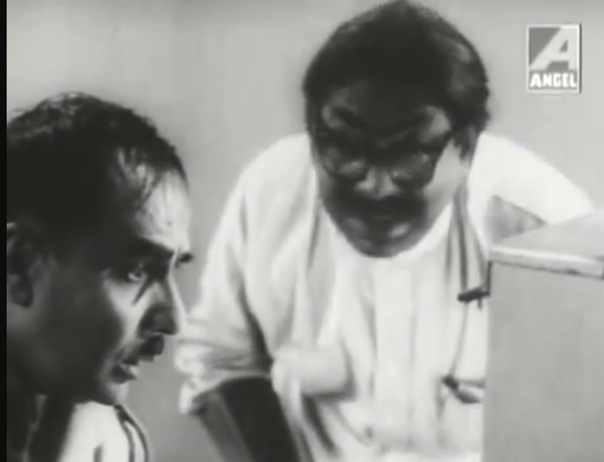 Haridhan Mukherjee paras pathar bengali black and white film satyajit ray