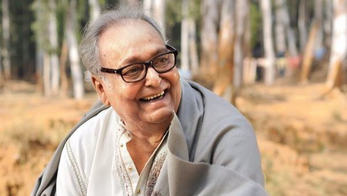 Soumitra Chattopadhyay Soumitra chatterjee bengali actor