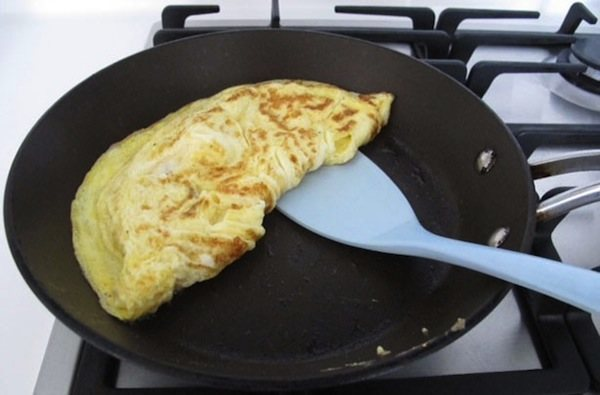 omelette cheese fried egg