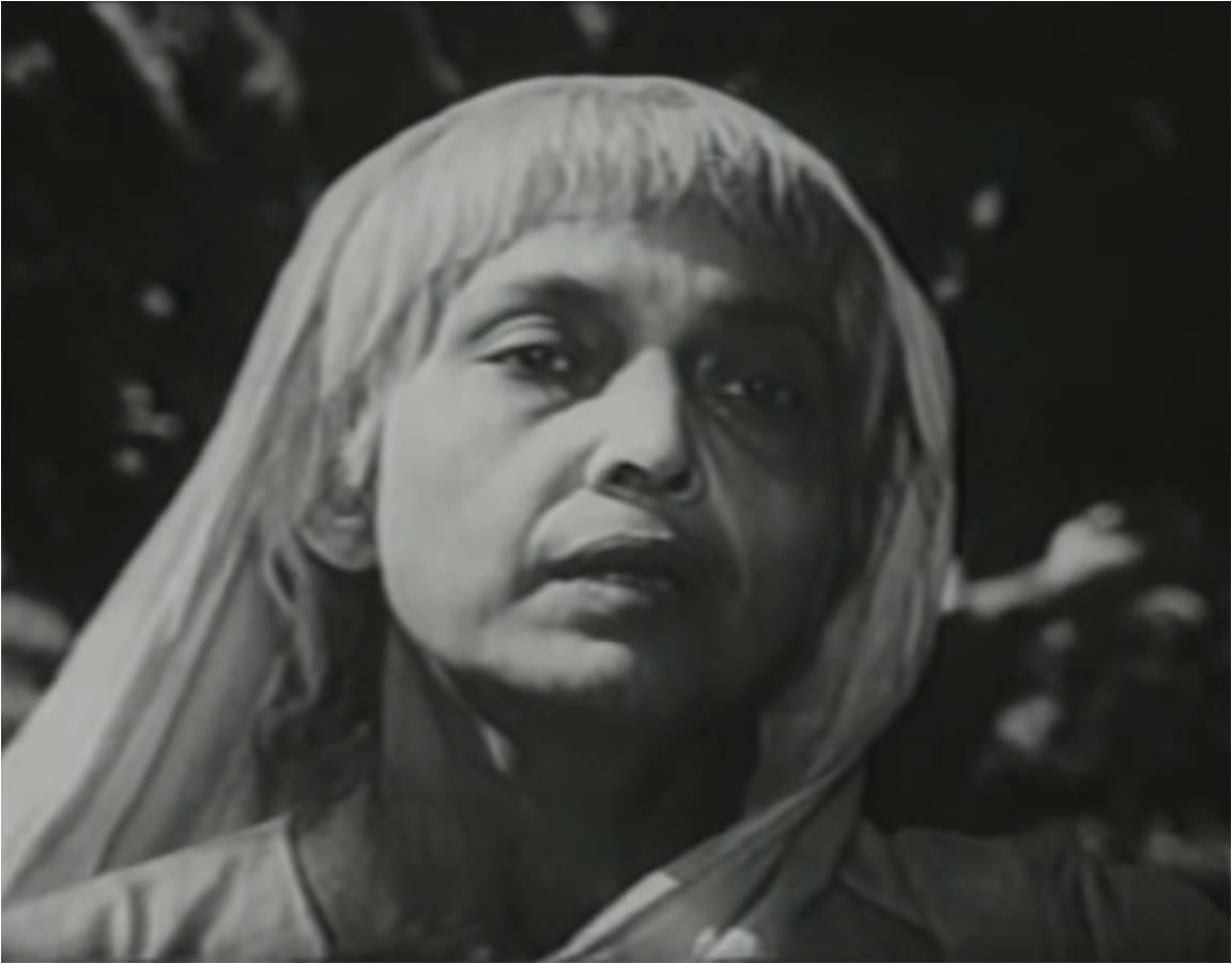 Chhaya Devi apanjan bengali actress black and white