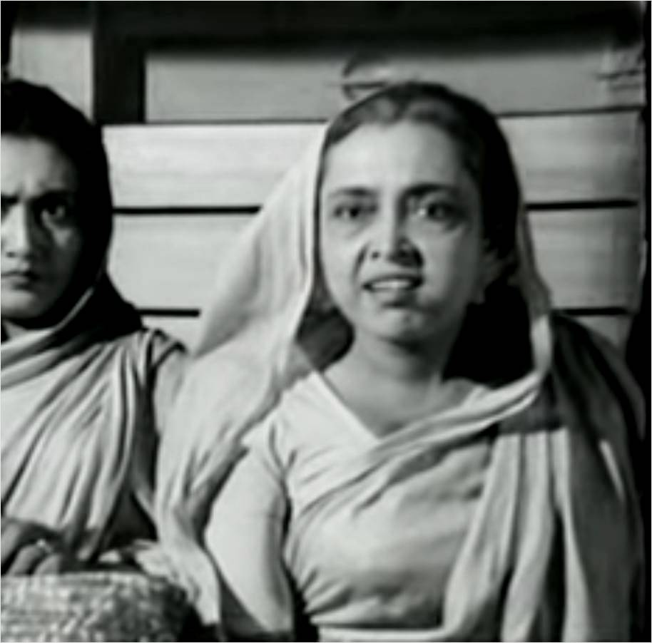 Chhaya Devi nirjan saikate bengali actress black and white