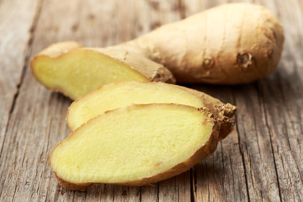 liver diet healthy ginger