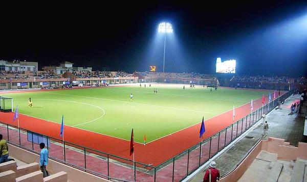 ranchi jharkhand tourism stadium astroturf