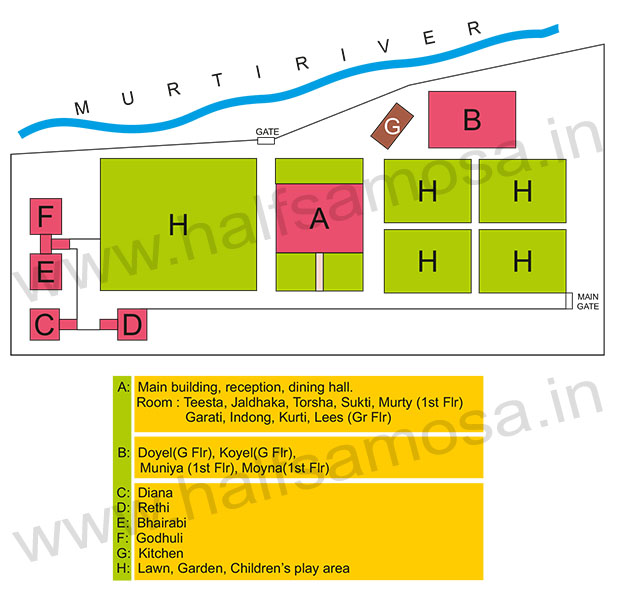 WBFDC Murti Banani room map
