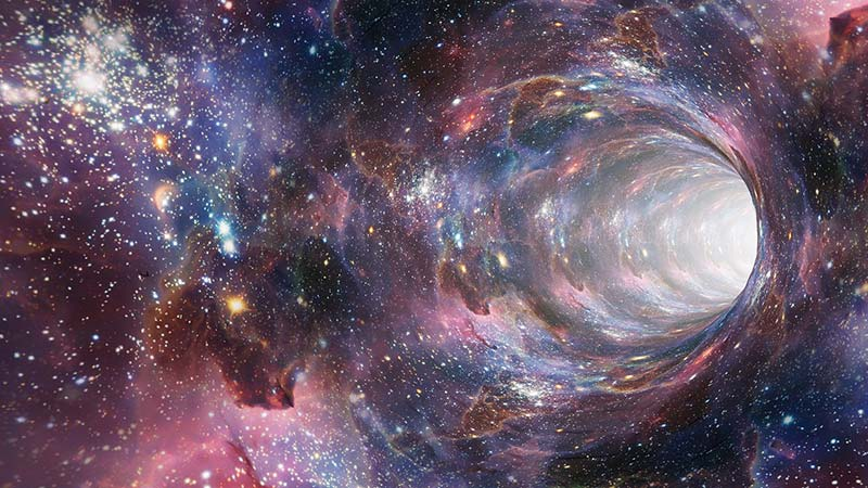 bizarre space time concept which is our reality