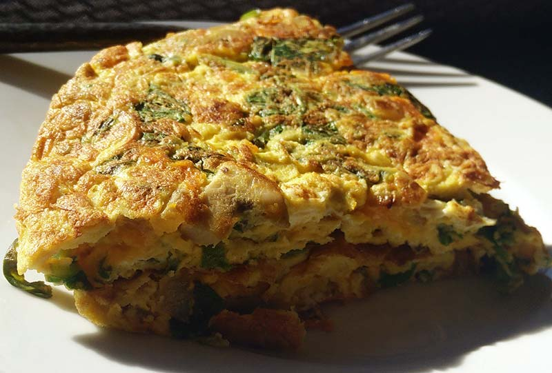 cheese and egg recipe omelette indian