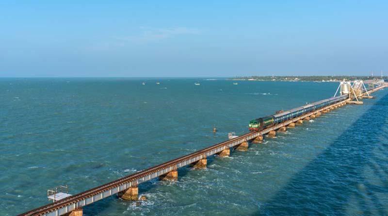 Most Beautiful Islands in India pamban