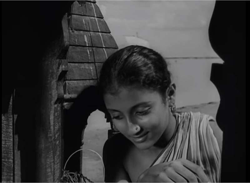 Debut in a Satyajit Ray Movie topshe aparna sen