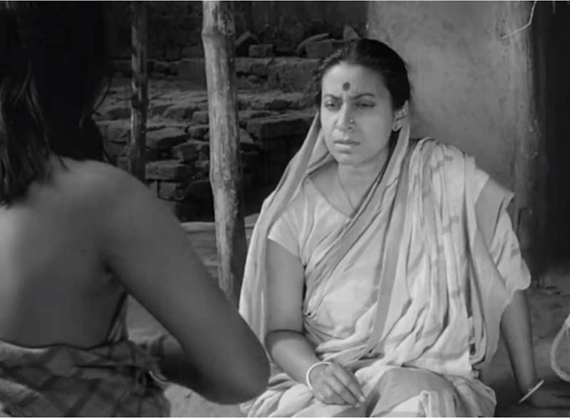 Debut in a Satyajit Ray Movie topshe karuna banerjee