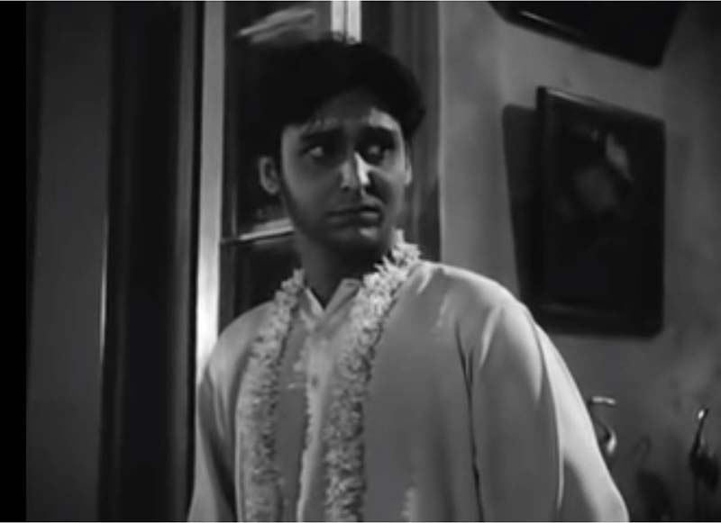 Debut in a Satyajit Ray Movie topshe soumitra chatterjee