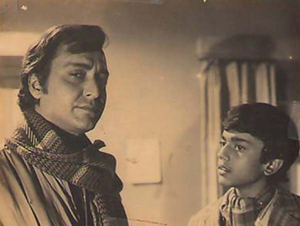 Debut in a Satyajit Ray Movie topshe siddharth chatterjee