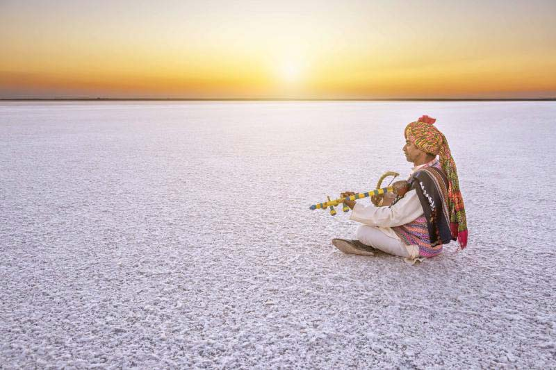 The Rann of Kutch Utsav artists