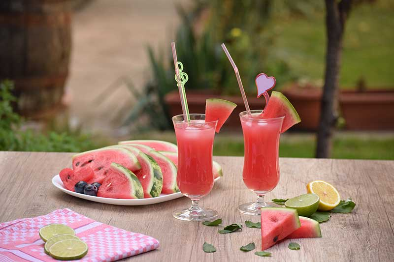 refreshing Indian summer drinks watermelon