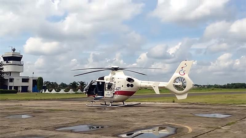 West Bengal Tourism Helicopter Booking Kolkata ride