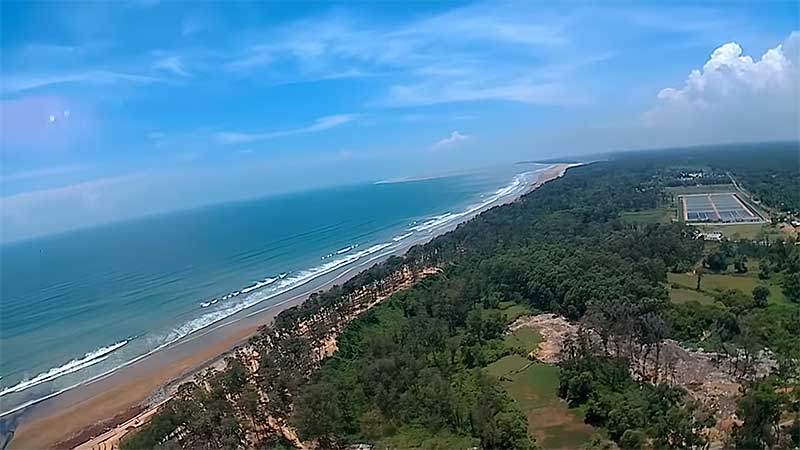 West Bengal Tourism Helicopter Booking Kolkata ride Digha