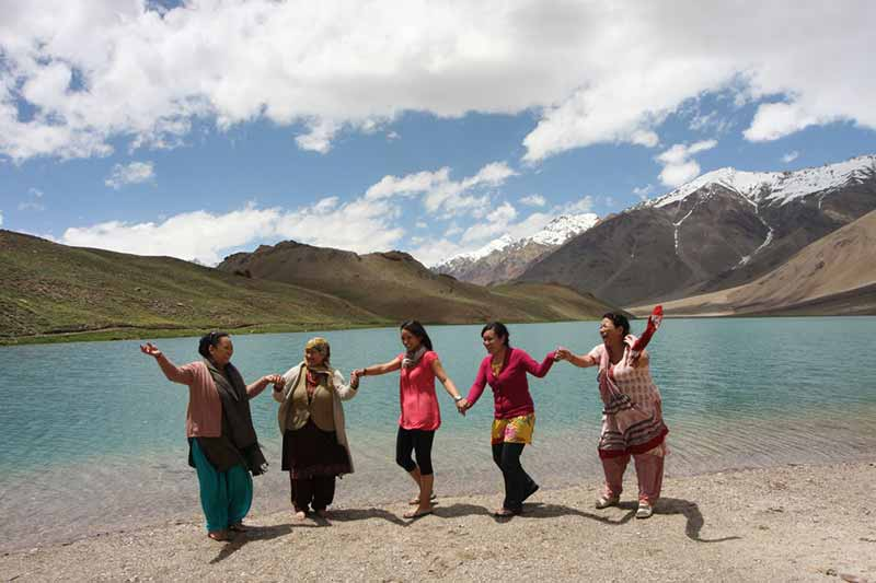 Lahaul and Spiti Valley locals, hotel and home stays