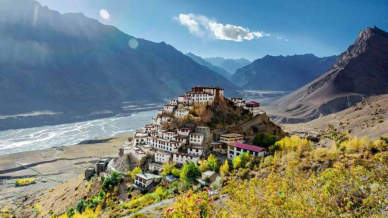 Lahaul and Spiti Valley Kee monastery