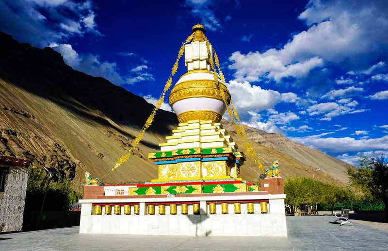 Lahaul and Spiti Valley Tabo monastery