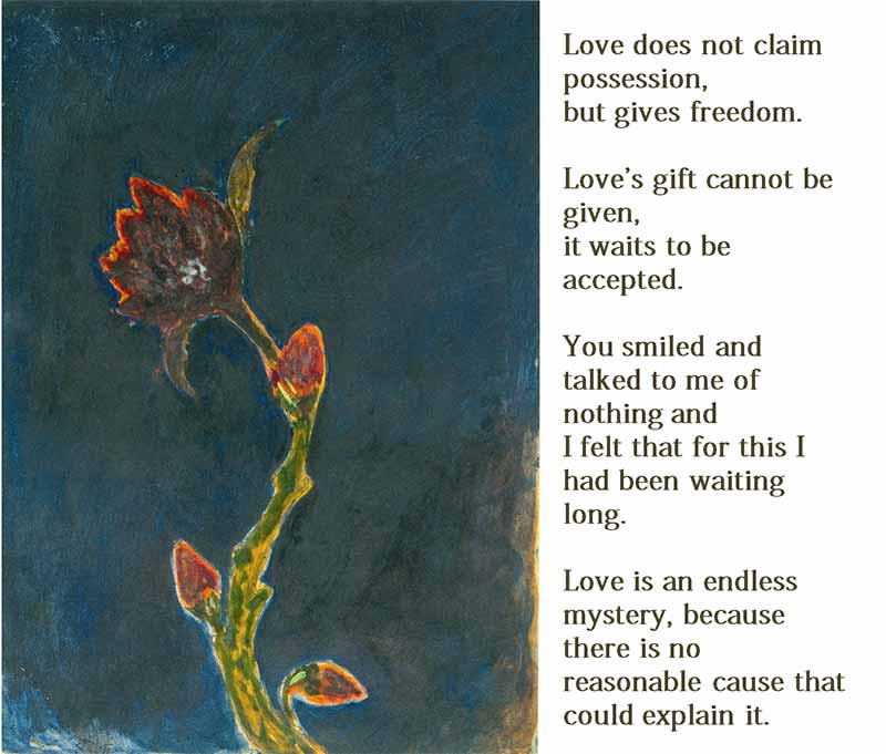Poems and Quotes of Rabindranath Tagore on love
